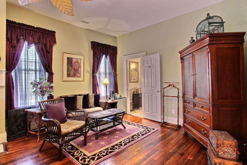Apartmá, soukromá koupelna (Sabal Palm Suite) - Obývací prostor