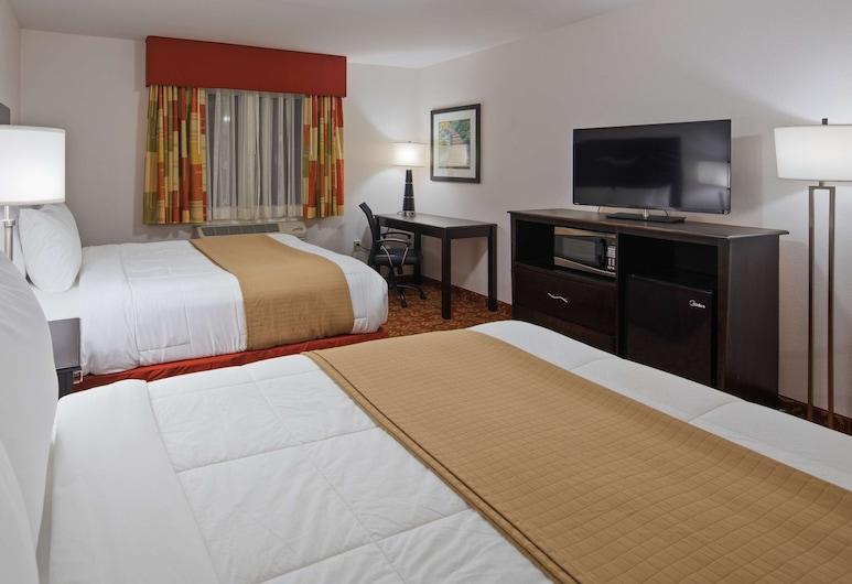 SureStay Hotel by Best Western Whittington Rend Lake, Whittington, Standard Δωμάτιο, 2 Queen Κρεβάτια, Μη Καπνιστών, Ψυγείο & Φούρνος Μικροκυμάτων, Δωμάτιο επισκεπτών