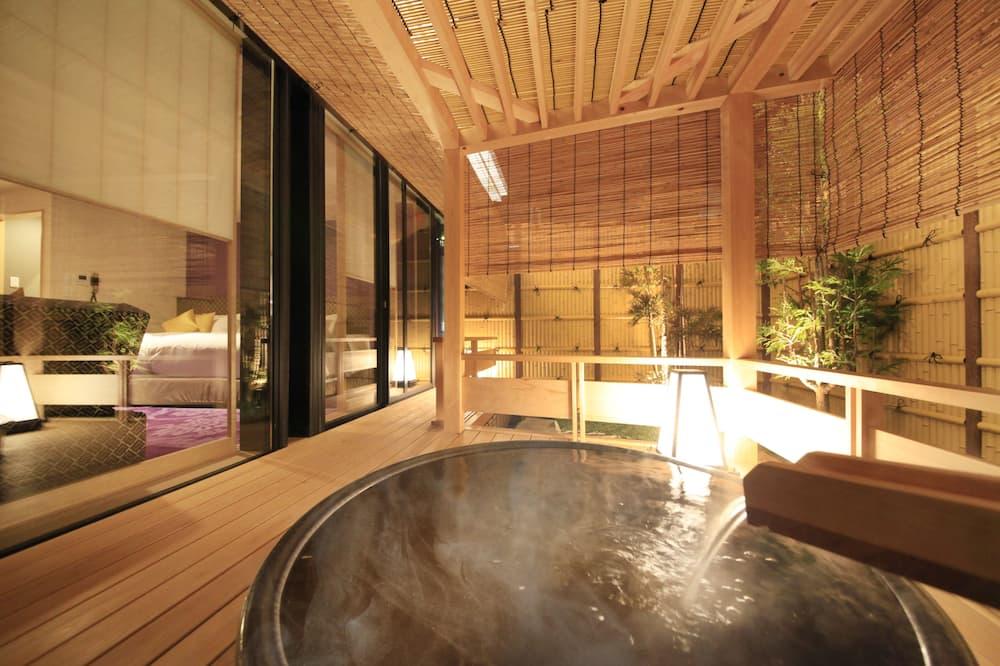 Japanese Style Family Room Kaguya (2 Double Bed) - Open-Air Bath - Annex - Bathroom