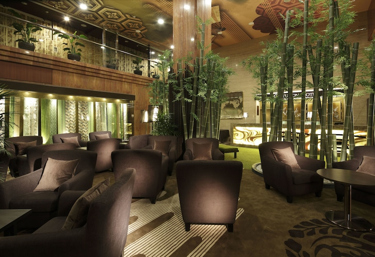 Centurion Hotel Ueno, Токио, Лаунж в вестибюле
