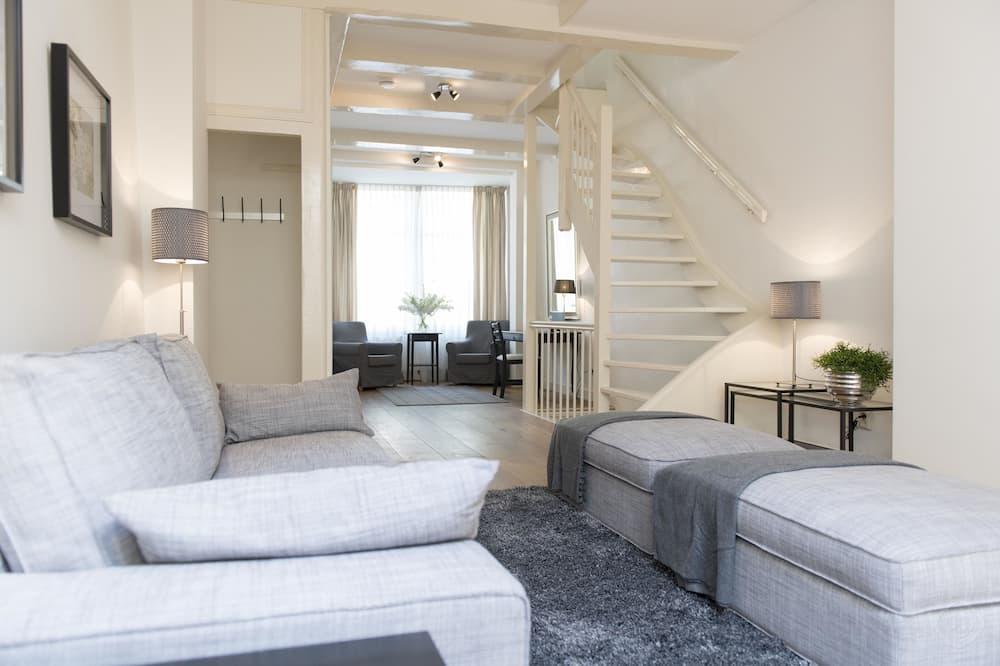 Lägenhet - 2 sovrum - utsikt mot staden - Vardagsrum