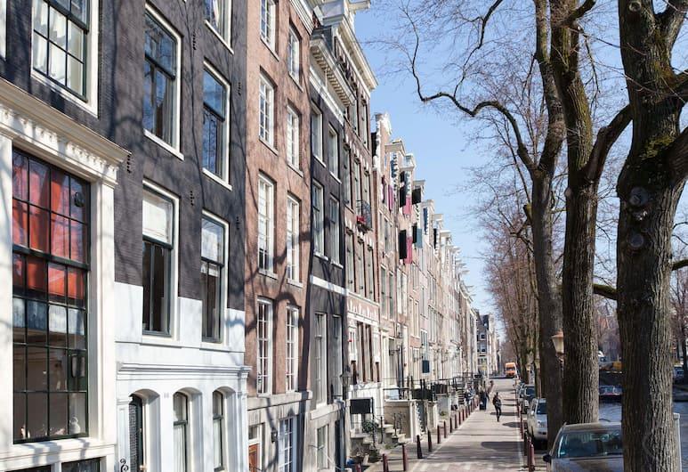 Prinsen Apartment, Amsterdam, Utvendig