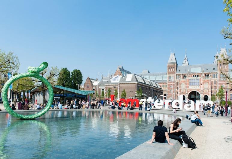 암스테르담에 위치한 모던한 아파트먼트, 파티오 보유 , 암스테르담, 분수