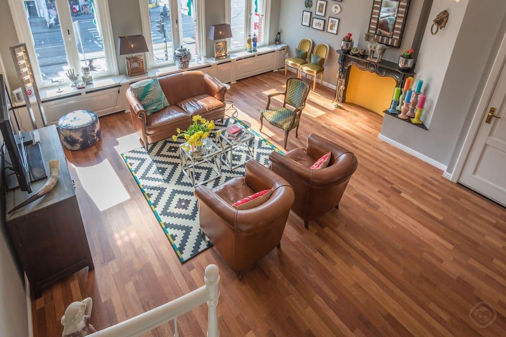 Apartment, 3Schlafzimmer, Stadtblick (Linnaeusstraat) - Wohnbereich