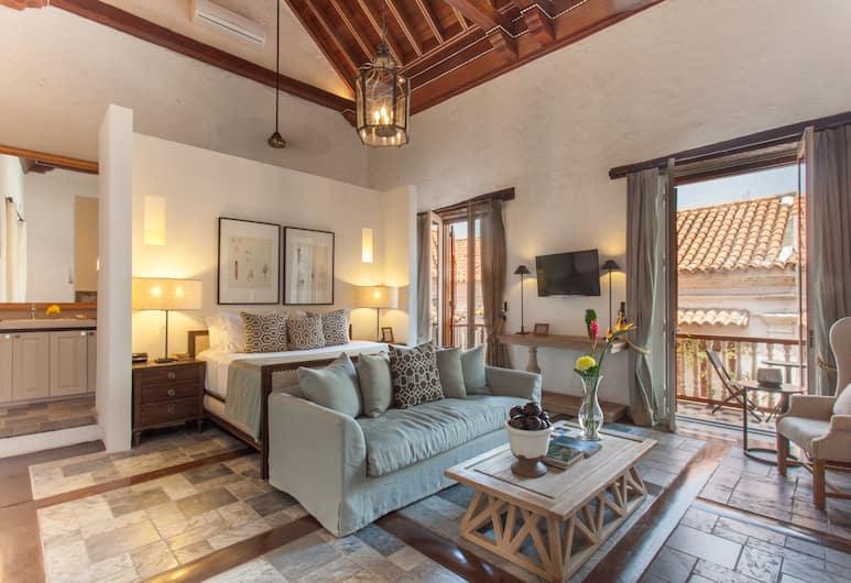 卡薩德科利西歐精品酒店, Cartagena, 套房, 客房