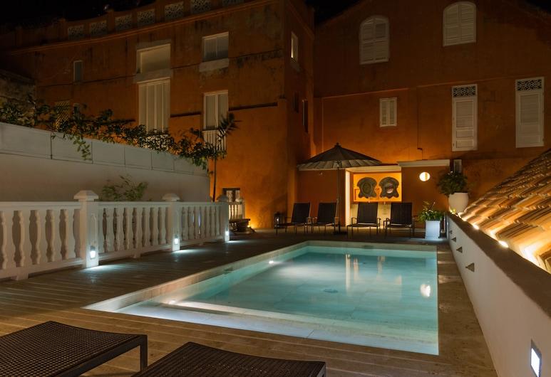 卡薩德科利西歐精品酒店, Cartagena, 室外泳池