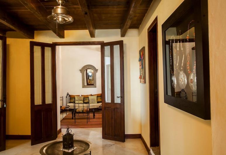 Casa Cordoba Roman, Cartagena, Presidential Apartment, 3 Bedrooms, Living Area