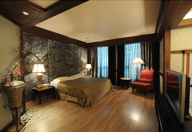 LiTi Motel, Taichung, Comfort Double Room, 1 King Bed, Guest Room
