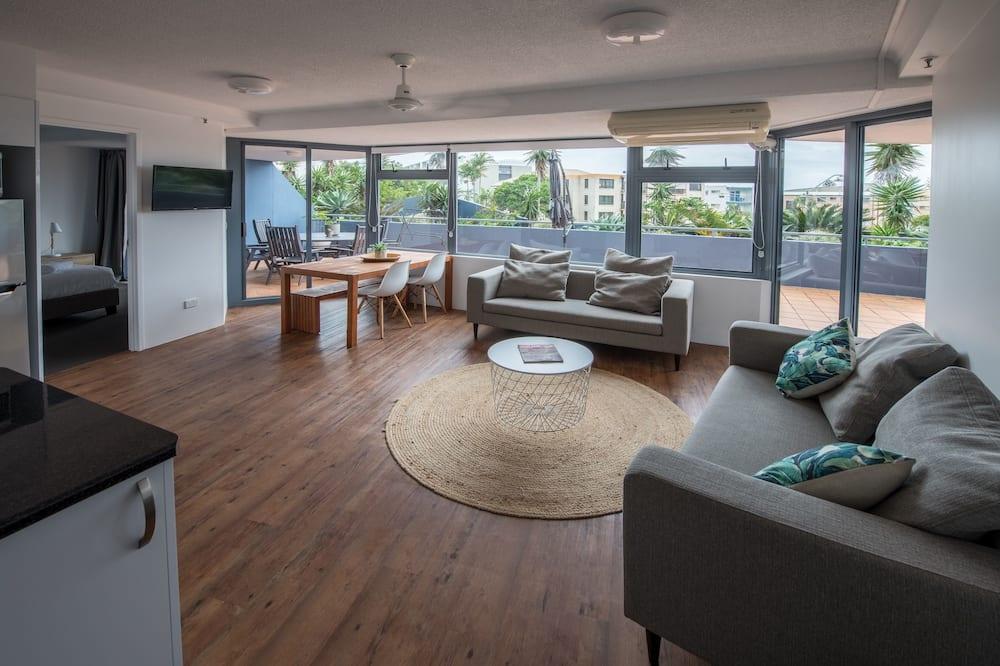 Apartament typu Deluxe, 1 sypialnia, przy dziedzińcu - Powierzchnia mieszkalna