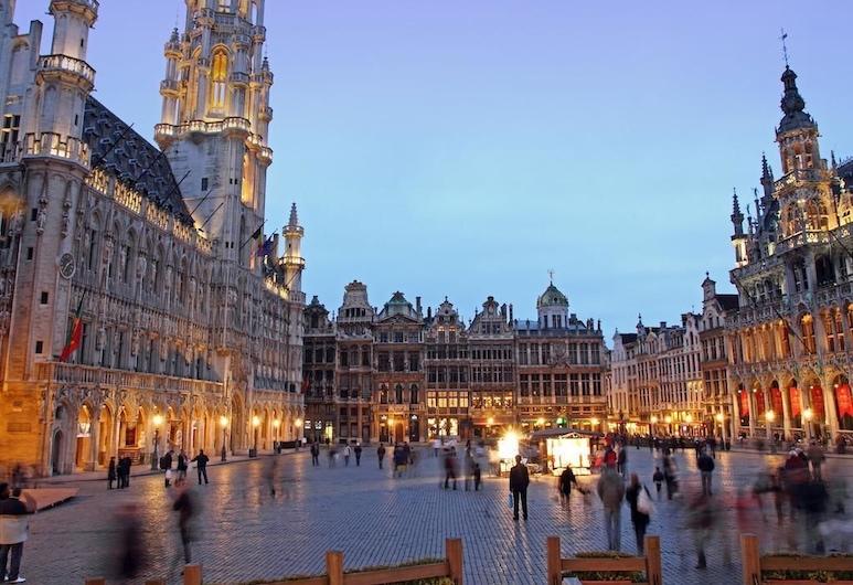 Hotel Le Grand Colombier, Bryssel, Vardagsrum