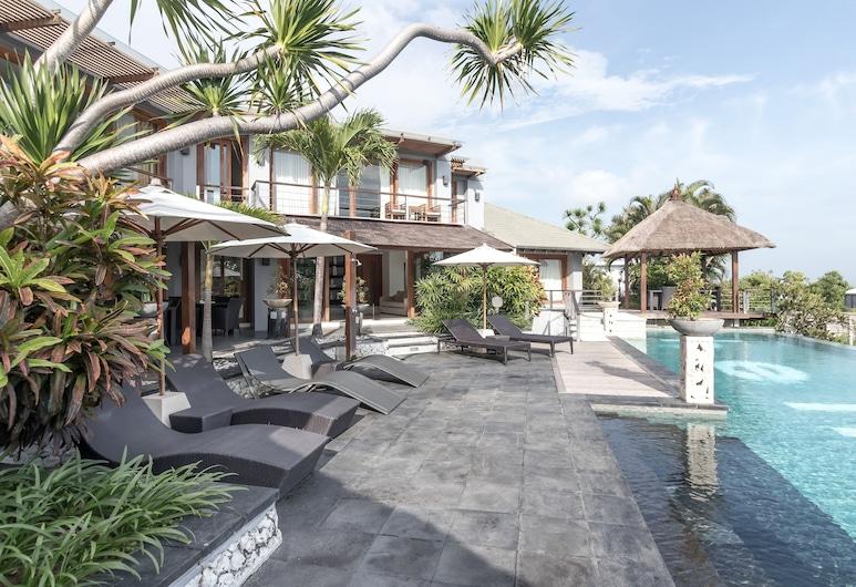 Villa Hening Boutique Hotel, Jimbaran, Zwembad
