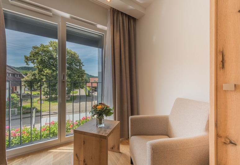 Hotel & Gasthaus Löwen, Waldkirch, Comfort Double Room Single Use, Living Area
