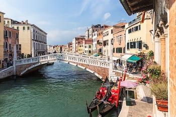 在威尼斯的威尼斯皇宫联排别墅照片