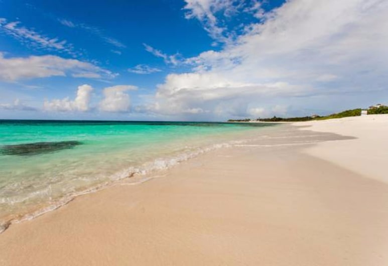 Fountain Anguilla, Shoal Bay, Studio, 1King-Bett, Strandblick, Ausblick vom Zimmer