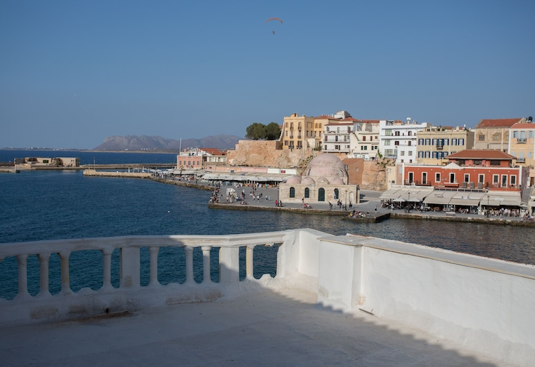 Nostos Hotel, Chania, View from Hotel