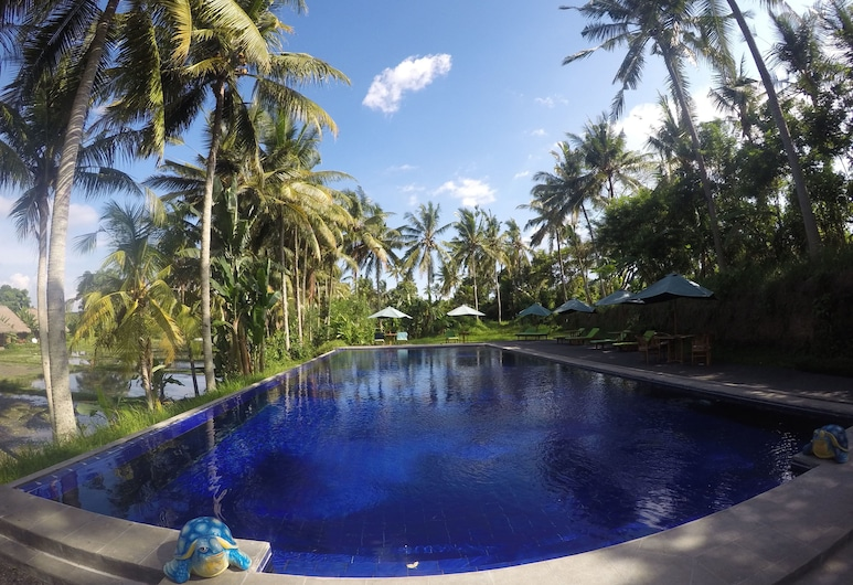 Sapulidi Resort Spa & Gallery Bali, Ubud, Udendørs pool