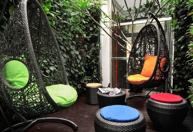 Hotel Clover 769 North Bridge Road, Singapur, Terrasse/Patio