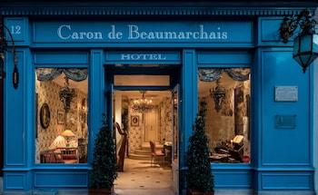 Naktsmītnes Hotel Caron de Beaumarchais attēls vietā Parīze