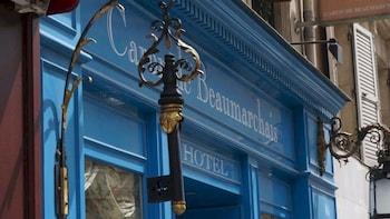 Selline näeb välja Hotel Caron de Beaumarchais, Pariis