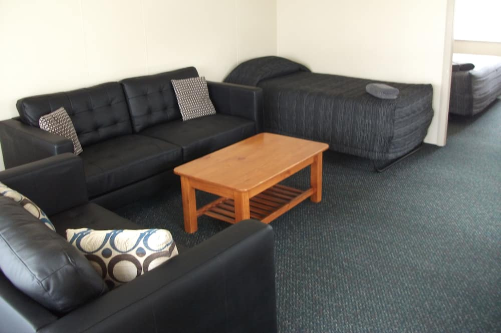 Two-bedroom unit – 2 Kings - Living Area