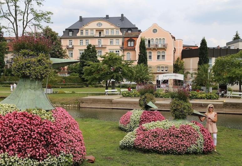 Villa Thea Kur-Hotel am Rosengarten, Bad Kissingen, Hótelgarður