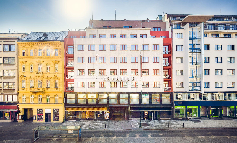 Grandior Hotel Prague, Prague, Uteområde