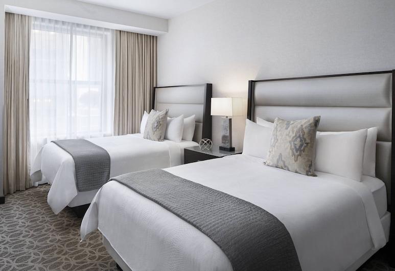 JW Marriott Houston Downtown, Houston, Quarto luxo, 2 camas Queen, para não fumantes, Quarto