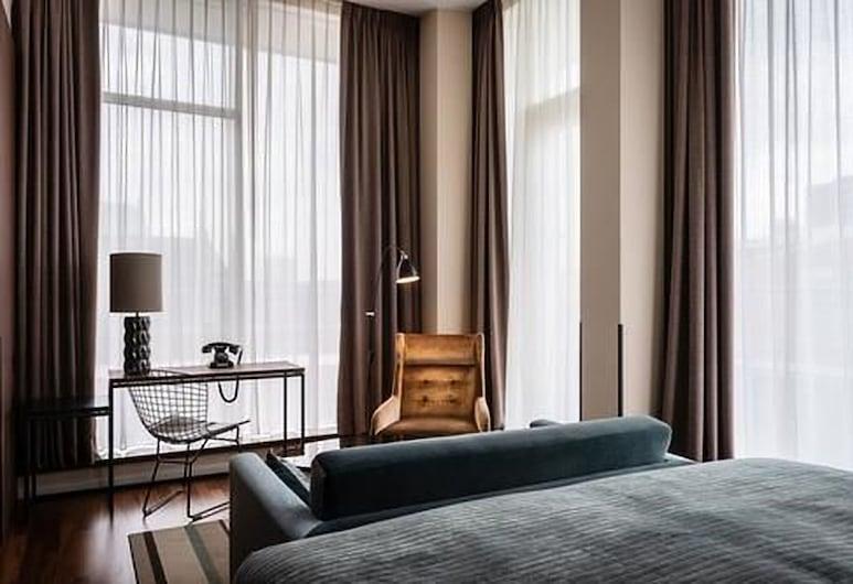 AMERON Hamburg Hotel Speicherstadt, Hamburg, Suite – junior, Gjesterom