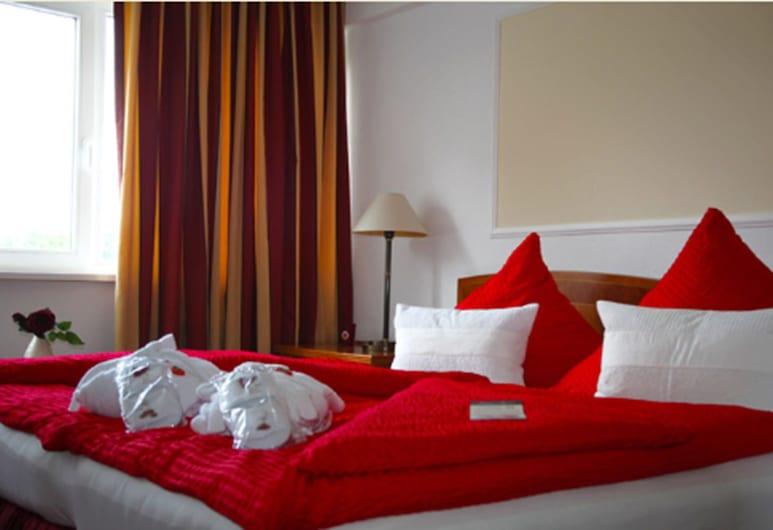 Hotel Antares, Halberstadt, Deluxe egyágyas szoba, Vendégszoba
