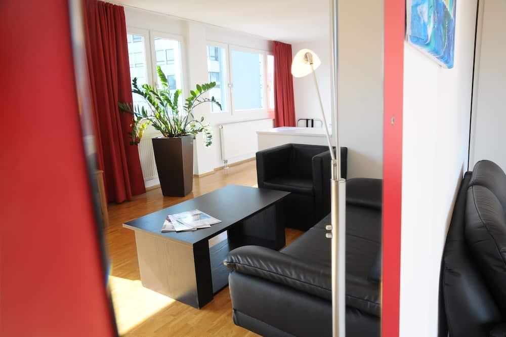 Superior appartement, Aan de binnenplaats (Karlstraße 42-44) - Woonruimte