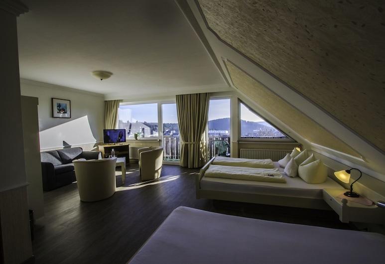 Hotel Schneider, Winterberg, Double Room, Bilik Tamu