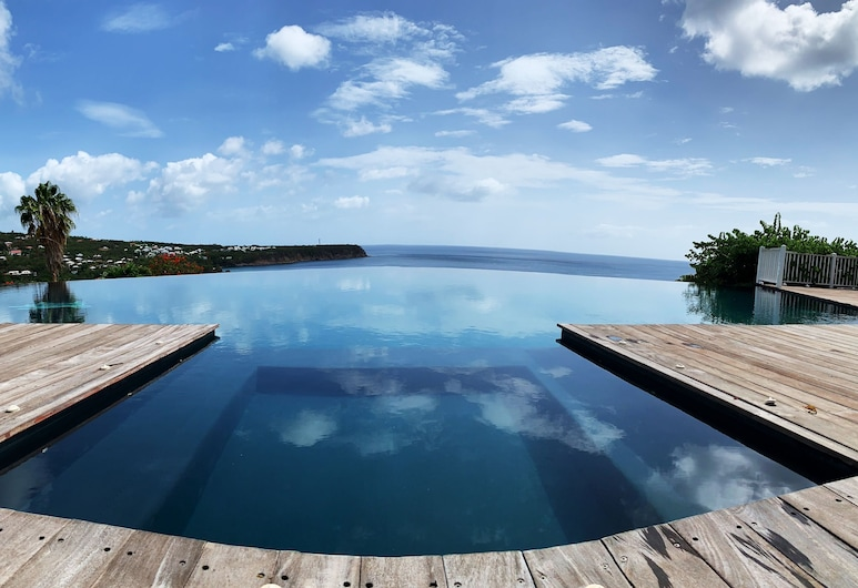 Le Rayon Vert, Deshaies, Infinity-Pool