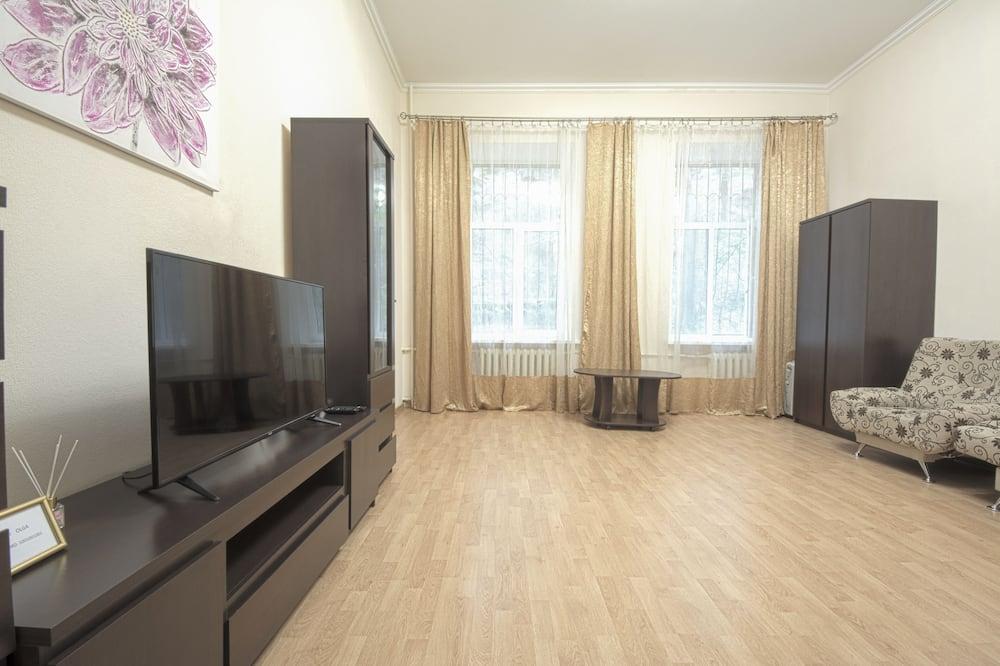 Апартаменты, 2 спальни (Khreschatyk Str., 1) - Зона гостиной