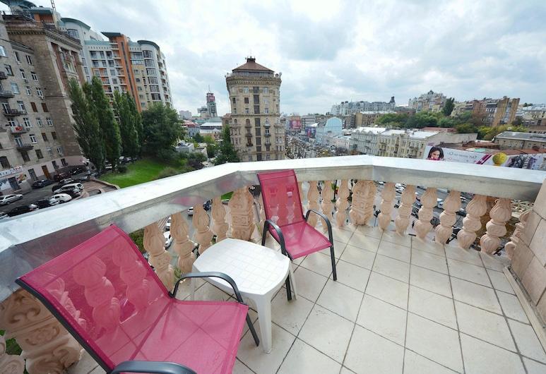 Olga Apartments on Khreschatyk, Kyiv, Superior appartement (Khreschatyk Str., 23), Terras