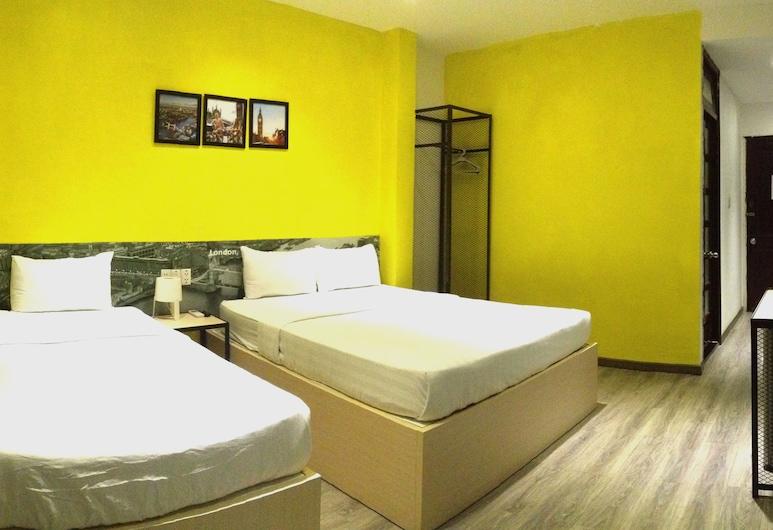 Suite Travelers Inn, Hočiminovo mesto, Izba typu Deluxe s dvojlôžkom alebo oddelenými lôžkami, výhľad na mesto, Hosťovská izba