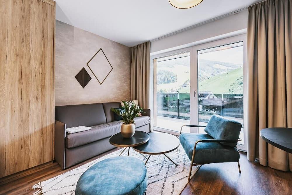 Suite de lujo, 1 habitación, sauna - Zona de estar