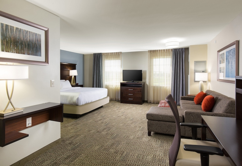 Staybridge Suites Denver-Central Park, an IHG Hotel, Denver, Room, 1 King Bed, Accessible, Non Smoking (Hearing, Mobility, Bathtub), Guest Room