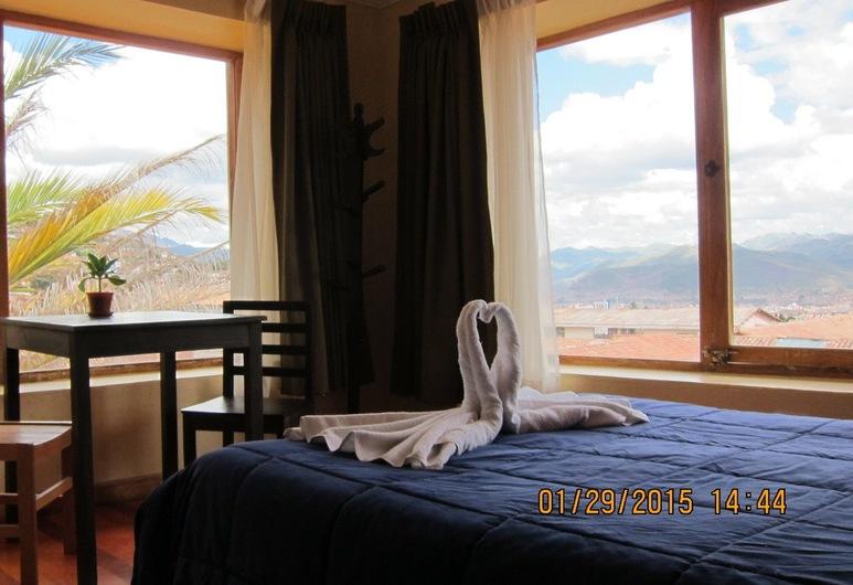 クルミ, Cusco, デラックス ダブルルーム キングベッド 1 台, 部屋