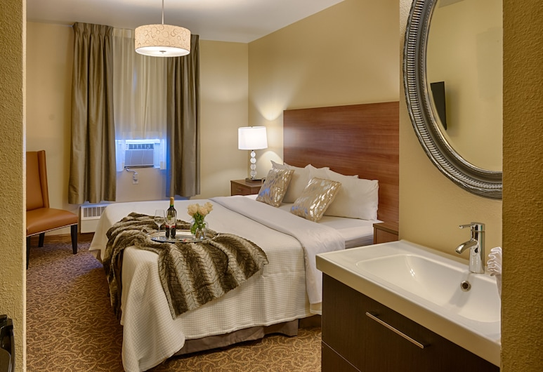 Urban Boutique Hotel, סן דייגו, חדר סופריור, מיטת קינג, חדר אורחים