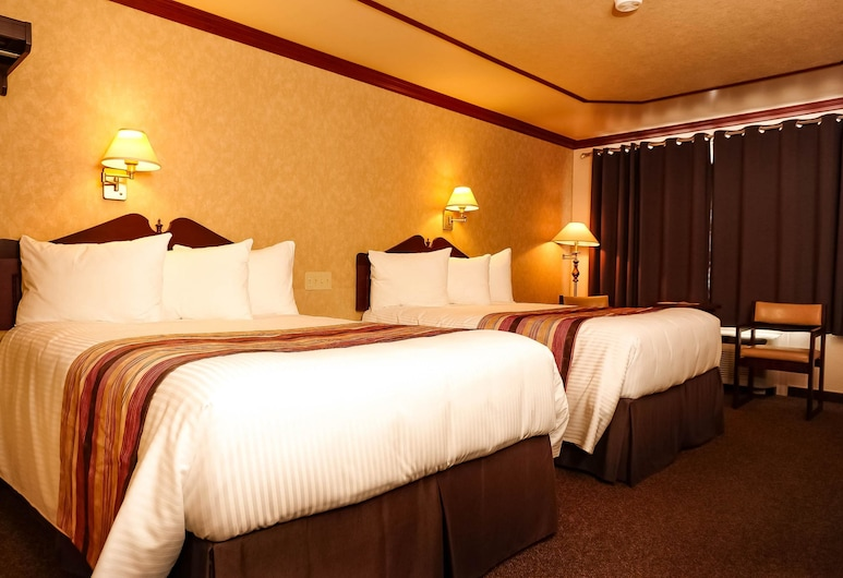 Rodeway Inn, Gaspe, Quarto Superior, 2 camas de casal, Não-fumadores, Quarto