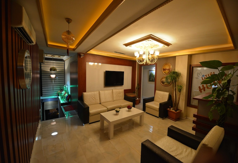 Letter Hotel, Κωνσταντινούπολη, Καθιστικό στο λόμπι