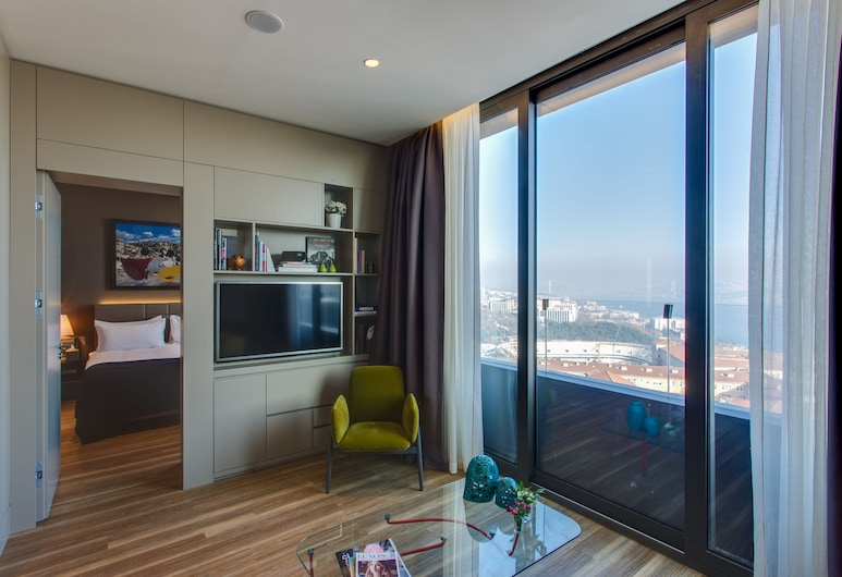 Avantgarde Hotel Taksim Square - Special Class, Istanbul, Apartmán (Bosphorus), Obývacie priestory