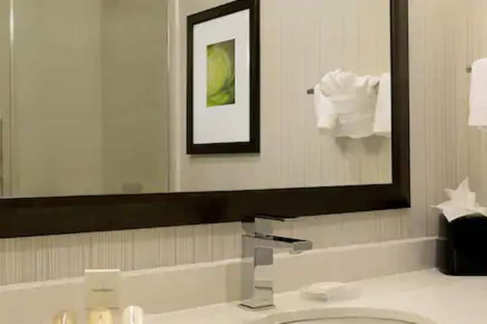 Номер «Делюкс», 1 двуспальная кровать «Квин-сайз», для некурящих - Ванная комната