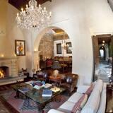 Sittområde i lobbyn