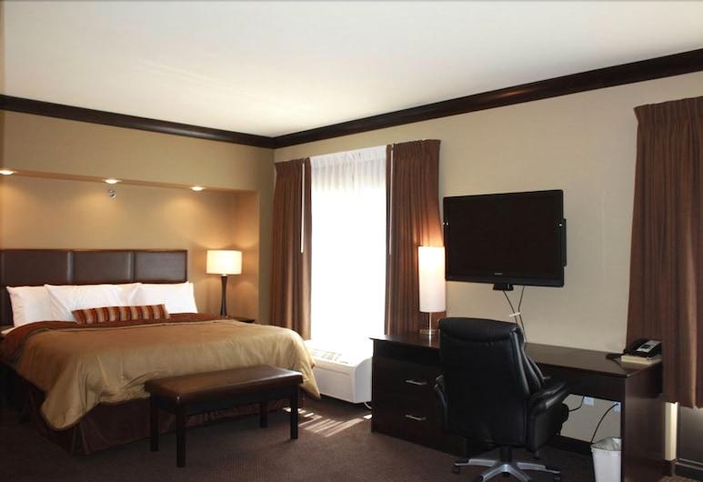 Parkwood Inn & Suites, Manhatana, Standarta numurs, 1 divguļamā karaļa gulta, piekļuves iespējas personām ar kustību traucējumiem, Viesu numurs