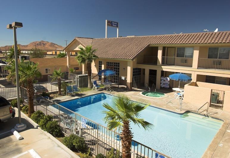 Best Western Desert Winds, Mojave, Alberca al aire libre