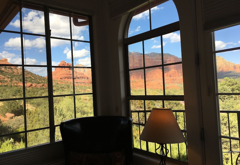 The Penrose Bed and Breakfast, Sedona, Blick vom Hotel