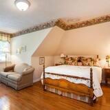 Standardværelse - 1 queensize-seng (Garden View) - Opholdsområde
