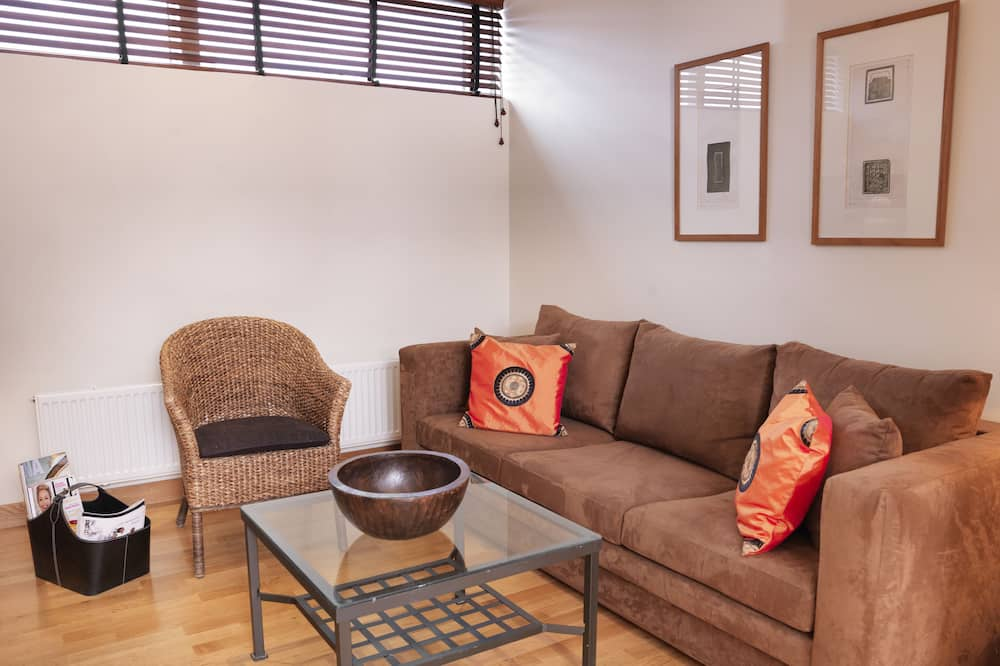 Superior Double Room (Sofa bed) - Living Room
