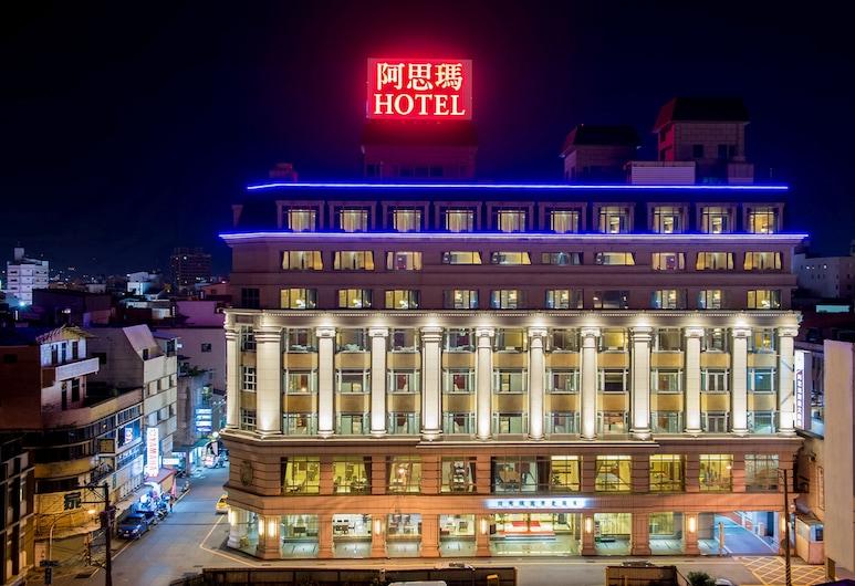 阿思瑪麗景大飯店, 花蓮市, 飯店入口 - 夜景